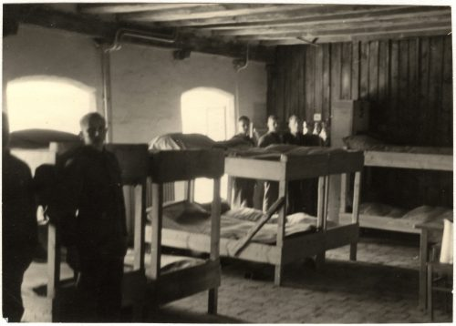 <p>Tittmoning Internment Camp</p> <p><small>International Committee of the Red Cross ICRC, 12/10/1942, War 1939-1945. Tittmoning. Ilag, prisoners of war camp. Dormitory, V-P-HIST-01628-13</small></p>